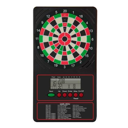 ESCORELCD Dartboard Electronic Touch Pad Scorer with