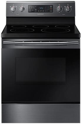 "NE59M4320SG 30"" Freestanding Electric Range With Fan Convection  5.9 cu. ft. Capacity  Warming Center  Hidden Bake Element  Storage Drawer  Wide View Window"