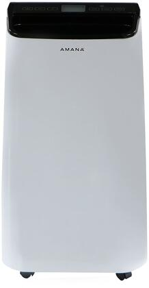 Amana AMAP101AB Portable Air Conditioner with Remote Control in White/Black for Rooms up to 250-Sq. Ft.