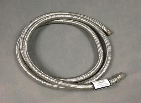 5308815072 6' Braided Stainless Steel Waterline  1/4 inch C X