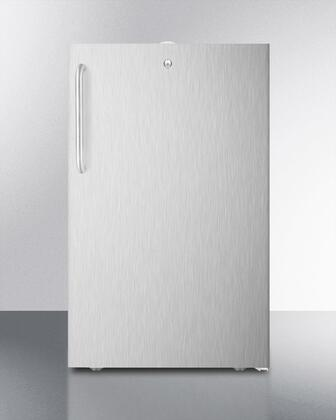 FF521BL7CSSADA Commercially Listed ADA Compliant 20 inch  Wide Built-in Undercounter All-Refrigerator With 4.1 Cu. Ft. Capacity    Automatic Defrost  Adjustable
