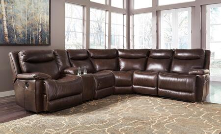 Zaiden U75001-58-57-19-77-46-62 Sectional Sofa With Left Arm Facing Zero Wall Power Recliner  Console With Storage  Armless Recliner  Wedge  Armless Chair And