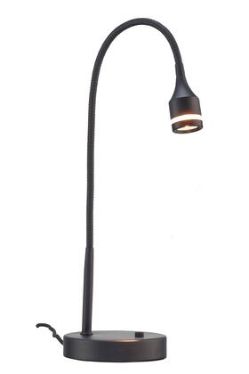 3218-01 Prospect Led Desk Lamp  Matte Black
