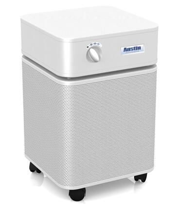 "HealthMate B400C1 23"""" Air Purifier with Perforated Steel Intake Housing  60 sq. ft. Capacity and True HEPA Filter in"" 887355"
