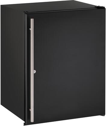 """U-ADA24RB-13A 24"""" ADA Series Star K  Energy Star  ADA Compliant Compact Refrigerator with 5.3 cu. ft. Capacity  Built In or Freestanding  LED Lighting"""