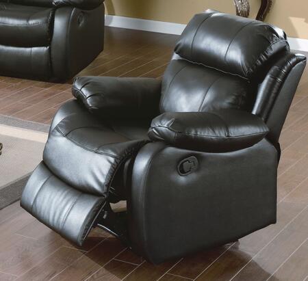 WE9918C-BK Weston 39 inch  Recliner Chair in