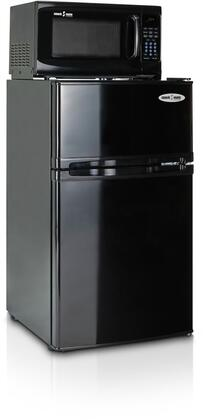 3.1SM5-7A1 Snackmate Series 3.1 Cu. Ft. Freestanding Compact Refrigerator with 700 Watt Microwave  Zero-Degree Freezer  LED Timer/Clock  and CanStor Beverage
