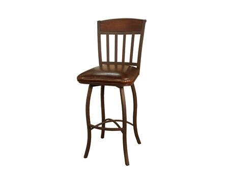 Lancaster Series 124707GS-L32 24 Traditional Counter Stool with Uniweld Metal Construction  3