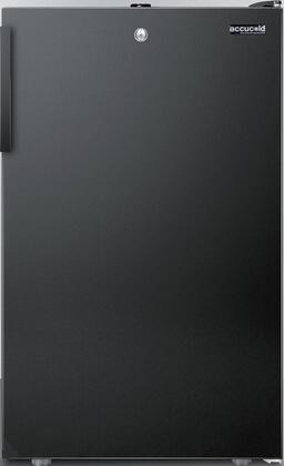 FS408BL7BI 20 inch  Upright Freezer with 2.8 cu. ft. Capacity  Factory Installed Lock  Manual Defrost  Pull-Out Drawers and Reversible Door  in