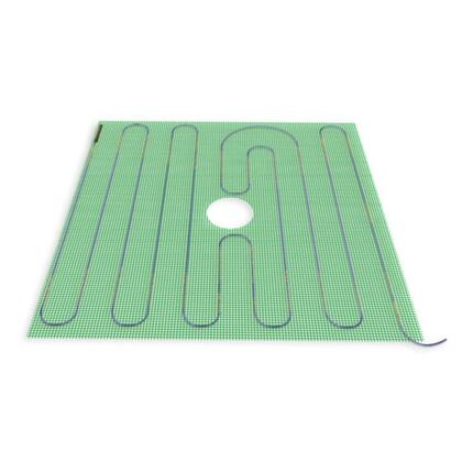 TRT120-2.7x2.7 Tempzone    Shower Mat 120V 32'' X 32''   7.1 Sq.Ft.