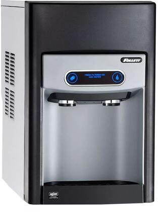 15CI100A-IW-CF-ST-00 Ice Machine and Dispenser with Nugget Style Ice  125 lb Production Capability  15 lb Storage