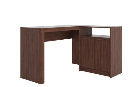 138AMC164 Kalmar L -Shaped Office Desk With Inclusive In Dark