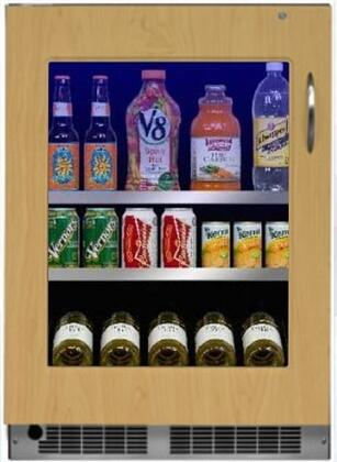 Marvel MP24BCF4LP Professional Series 24 Inch 5.3 cu. ft. Capacity Built In Compact Beverage Center in Panel Ready
