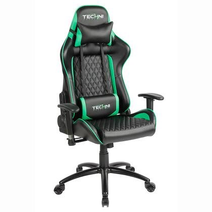 RTA-TS50-GRN TS-5000 Ergonomic  High Back  Racer Style  Video Gaming Chair. Color
