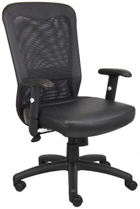 "B580 41"" Executive Chair with Web Back  Seat Height Adjusment  Adjustable Tilt Tension Control  Hooded Double Wheel Casters and Adjustable Heights in"