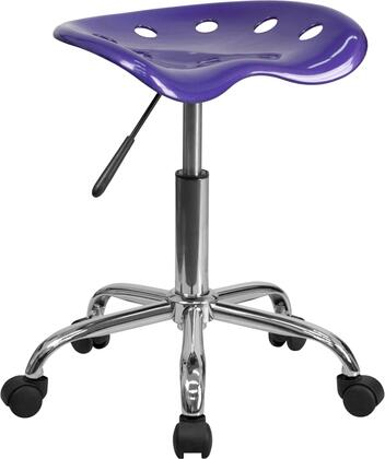 LF-214A-VIOLET-GG Vibrant Violet Tractor Seat and Chrome
