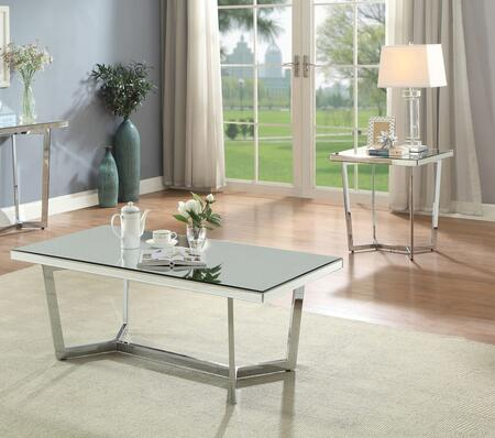 Hastin Collection 80980CE 2 PC Living Room Table Set with 48