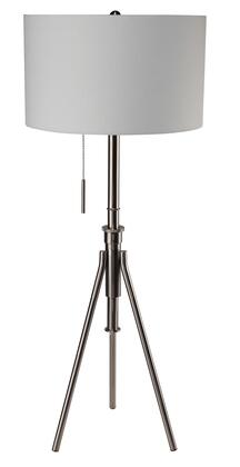 Zaya L731171F-SV Floor Lamp with Contemporary Style  Metal  Height: 32-37