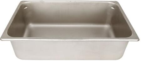 "ICEPAN 6"" Deep Stainless Steel Ice Pan with Slides on Sink Rails (For Alfresco Main Sink"