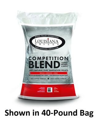 55205 20-Pound Bag Competition Blend Wood