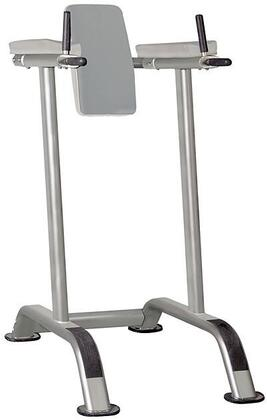 E-4969 Vertical Knee Raise with Dip Station and Rubber Feet in Grey and