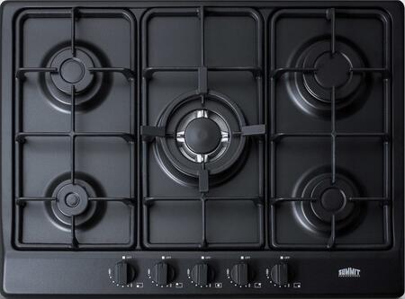 "GC5272B 27"" Gas Cooktop with 5 Sealed Burners  Wok Ring  Continuous Cast Iron Grates  in"