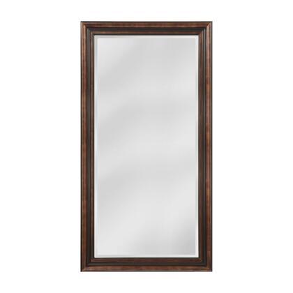 MW4105D-0037 Gastonia Mirror in Walnut  Black