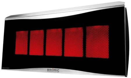PLA500LP 500 Series Liquid Propane Platinum Smart Heat  5 Burner Radiant Outdoor Heater with 39 800 BTUs  Electronic Ignition and Automatic Re-Ignition in