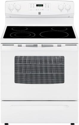 94172 30 Freestanding Electric Range with 5.3 cu. ft. Oven Capacity  4 Elements  Self Cleaning Oven and Storage Drawer in