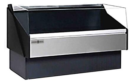 KPMOF80R Open Front Deli Case with 4209 Cooling BTU  Tempered Front Glass  in
