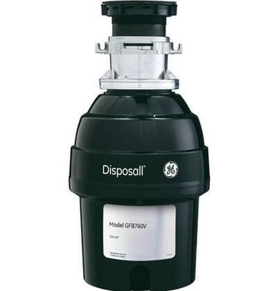 GFB760V 3/4 Horsepower Batch Feed Disposer With EZ Mount Installation  Direct Wire Power Connection  2700 RPM Grinding Action  Dual Swivel Impellers