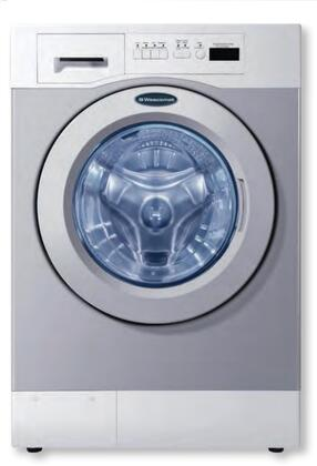 "WHWF09810NM 27"" Commercial Front-Load Washer with 3.5 cu. ft. Capacity  15000+ Cycles Durability  4 Wash programs  2 Cycle Options  Liquid Supply Kit Included"