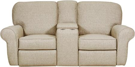 """57005P-52_Macintosh_Sage_74""""_Powered_Double_Motion_Loveseat_with_Rolled_Arms_and_USB_Charging_Port_in_Tan"""