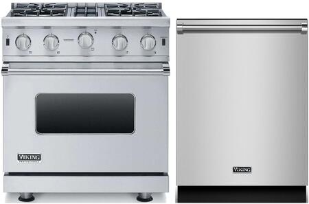 2-Piece Stainless Steel Kitchen Package with VGIC53014BSS 30