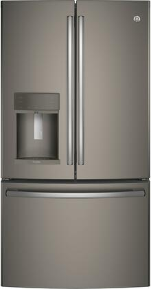 GE Profile PYE22KMKES 36 Energy Star Qualified Counter-Depth French-door Refrigerator with 22.2 Cu. Ft. Capacity