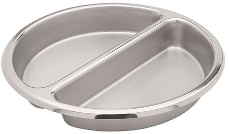 Large Round Stainless Insert Split Pan