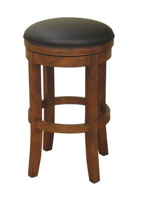 Winston Series 130774AM-L01 30 Traditional Bar Stool with Full Bearing Swivel  3