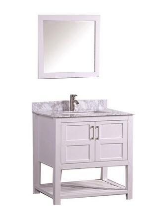 -2124W Norway 24 Single Sink Bathroom Vanity Set