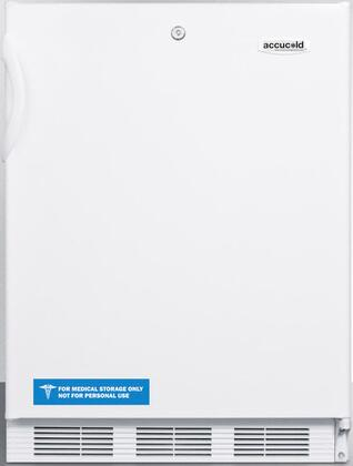 FF6L7ADA 24 inch  AccuCold Series Energy Star  ADA Compliant  Commercial  Medical Compact Refrigerator with 5.5 cu. ft. Capacity  Hidden Evaporator  Interior