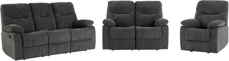 Dinero Collection 4219-395-295-985 3-Piece Living Room Set with Reclining Sofa  Reclining Loveseat and Recliner in
