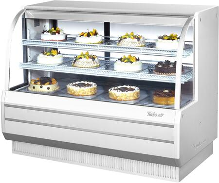 TCGB60WN_61_Curved_Glass_Refrigerated_Bakery_Display_Case_with_194_cu_ft_Capacity__Self_Cleaning_Condenser__Hydrocarbon_Refrigerants_and