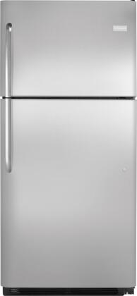 20.3 cu. ft. Top Freezer Refrigerator Finish: Stainless Steel FFTR2021QS