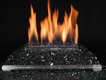 DF-GM30-BL 15 Pound Fireplace Glass: