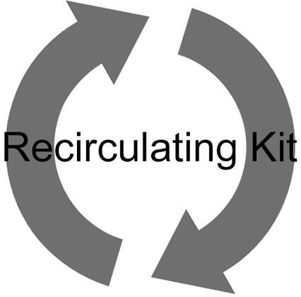 CFK3 Charcoal Filter Recirculating Kit for