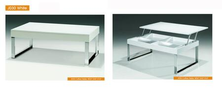 p5112 J030 White Coffee Table  Coffee and End Tables  ESF Style