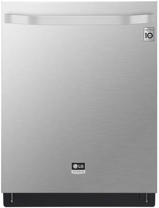 LSDF9897ST 24 inch  Top Control Dishwasher with QuadWash  15 Place Settings  Wi-Fi  EasyRack Plus  NSF  Energy Star Qualified  in Stainless