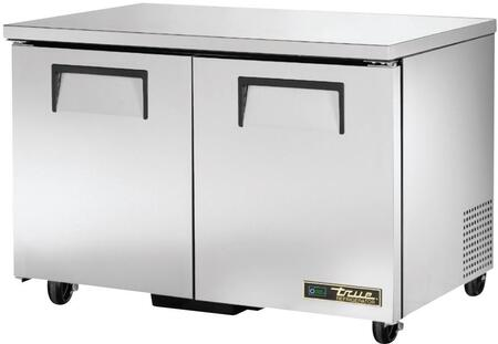 "TUC-48-HC 48"" Solid Door Undercounter Refrigerator with Hydrocarbon Refrigerant  in Stainless"