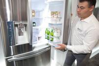 The Big, Bold, LG French-Door Refrigerator