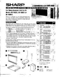 RK-46S24  RK-46K24  RK-46W24 Built-in Kit Instruct