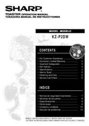 KZ-P2DW Toaster Operation Manual (285K)
